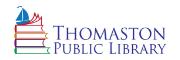 Thomaston Public Library Logo