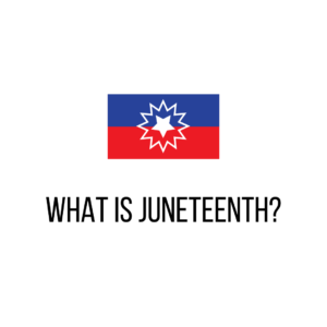 "Happy Juneteenth! Like many others, I've only recently learned about Juneteenth, the day to commemorate the end of slavery in the United States. If you need to catch up on your history as well, check out https://zcu.io/8oX4 and https://zcu.io/SJ2R for more info!   We still have a long way to go to heal the scar slavery has left on our country and our culture, but we can celebrate how far we have come and reflect on the work we have still to do. We're a library, so let's start with books! Head on over to YouTube to check out the Juneteenth Book Fest and let's honor and learn from some truly amazing Black authors: https://zcu.io/H3wk  Image description: Juneteenth Flag (half blue, half red, with a white star surrounding by a white burst in the center) on a white background with black text underneath that reads ""What Is Juneteenth?"""