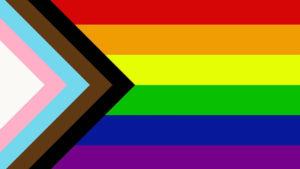 Inclusive Pride Flag Designed by Daniel Quasar