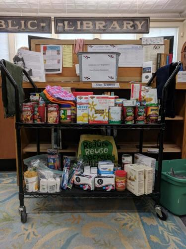 Food Pantry Donations, January 2018 CommuniTEA
