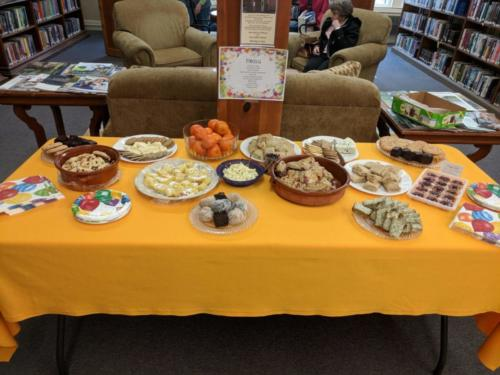 Food Table, February 2018 CommuniTEA