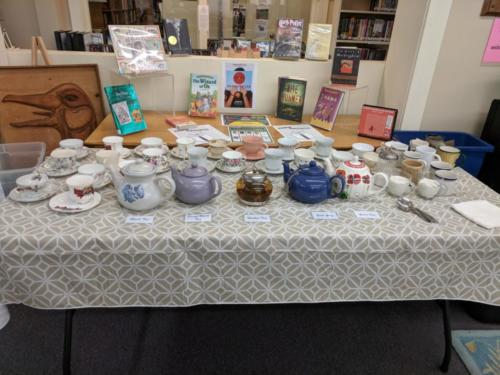 Tea Table, September 2018 CommuniTEA