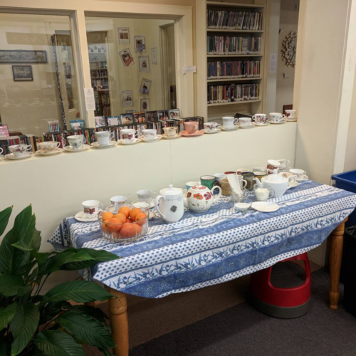 Tea Table, January 2018 CommuniTEA